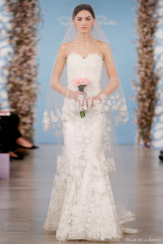 oscar-de-la-renta-wedding-dresses-2014-flower-embroidered-silk-organza-sweetheart-trumpet-gown
