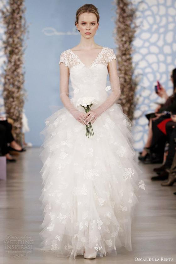 301 moved permanently for Oscar de la renta lace wedding dress